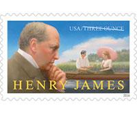 Henry James stamp