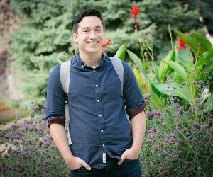 Creighton Arts and Sciences Student Daniel Kresock