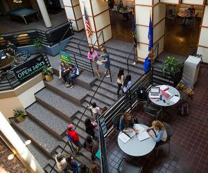 Skutt Student Center Interior