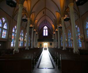 St. Johns Church interior