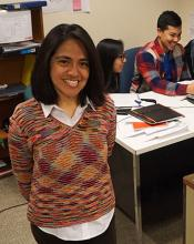 Patricia Soto's lab with her students