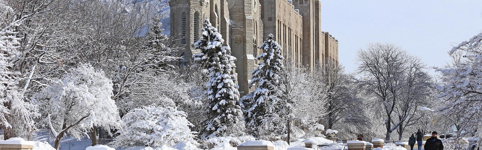 Winter at Creighton University